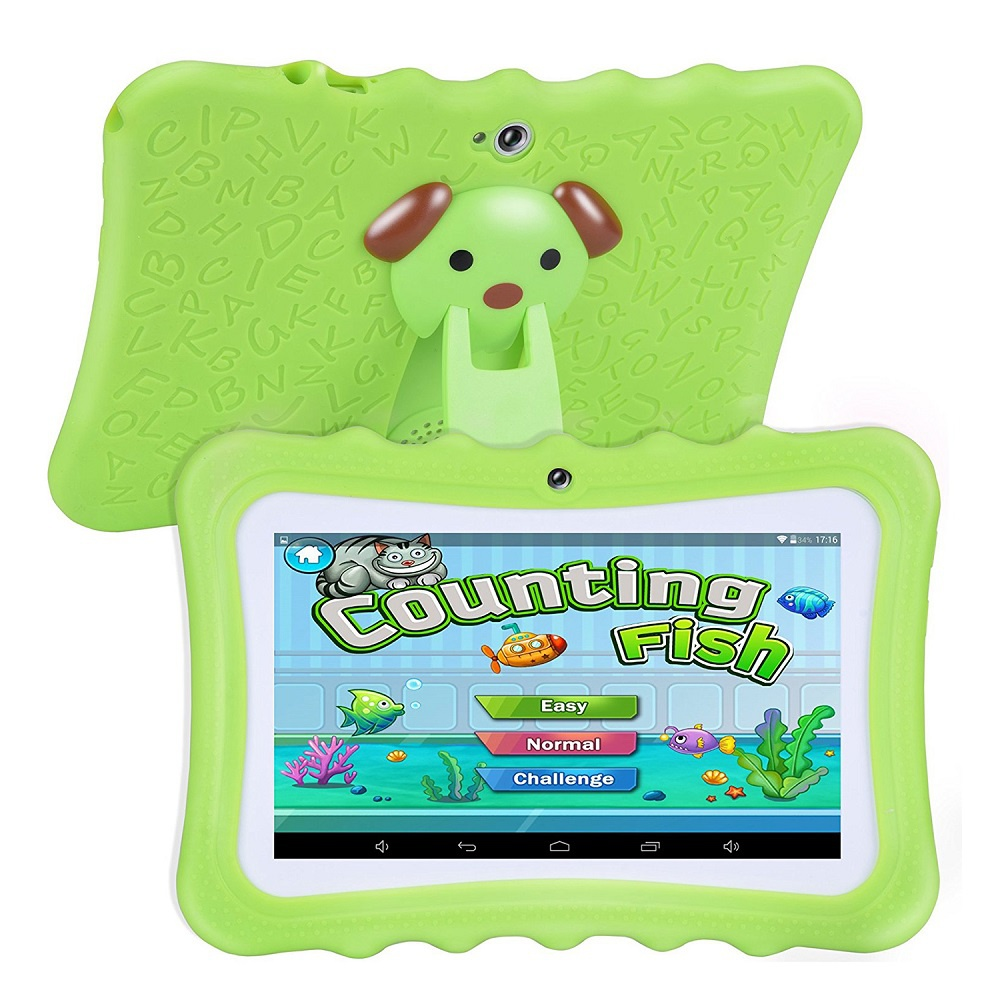 """Upgraded Android 6.0 7"""" 16GB Quad Core Kids Children Tablet PC Dual Camera HD"""