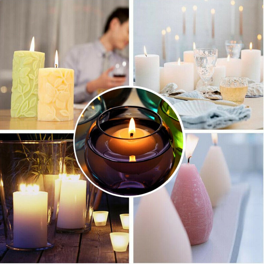 Candle Making Kit DIY Supplies Full Beginners Set+16 Colors Soy Wax Dye