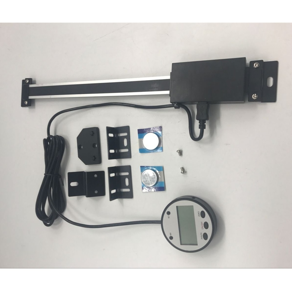 """200mm (8"""") Vertical Digital DRO Large Remote LCD Readout Scale For Bridgeport Mill"""