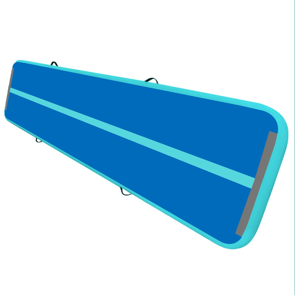 iMeshbean 10ft/ 4 inch inflatable air track best air track tumbling mat with air pump for indoor/ outdoor sport