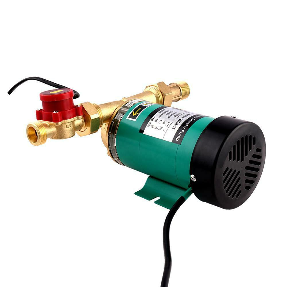 115V Water Pressure Booster Pump, 90W,  3/4 inch Automatic w/ Water Flow Switch