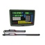 2 Axis Digital Readout With Linear Scale (100mm 650mm) for Milling Lathe Machine